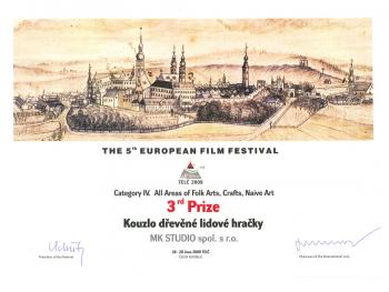 Evropský filmový festival - ocenění